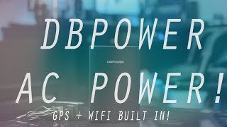 DBPOWER 26,400mAh Power Bank With Power Outlet!