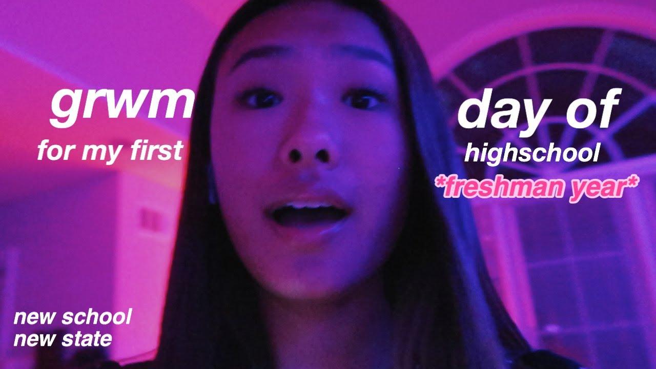 GRWM for my first day of highschool | freshman year