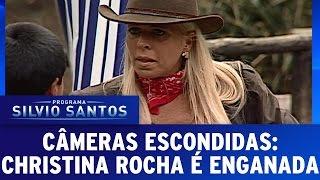 Câmera Escondida (11/12/16) - Christina Rocha pensa que seus cavalos foram alugados