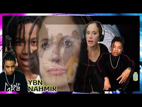 MOM REACTS TO YBN NAHMIR!!! (BOUNCE OUT WITH THAT & RUBBIN' OFF THE PAINT)