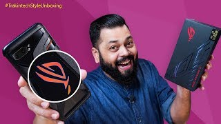 ASUS ROG Phone 2 Unboxing & First Impressions ⚡⚡⚡ Flagship Gaming Phone Like No Other!!!