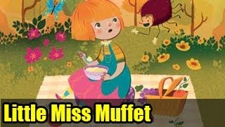 Little Miss Muffet | English Nursery Rhymes for Kids