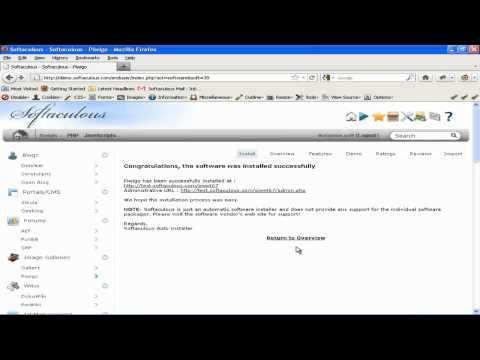 How to install Piwigo in Softaculous.mp4