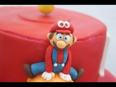 Super Mario Odyssey cake timelapse