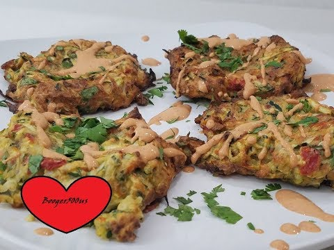 ZUCCHINI FRITTERS AIR FRYER