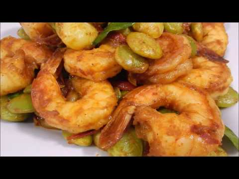 Delicious Lime Beans Stir Fry Curry Paste Recipe