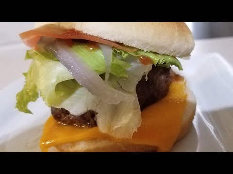 Air Fryer Lamb Cheeseburgers Cooks Essential Airfryer