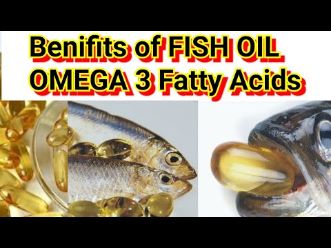 The Best Supplement | Omega 3 Fatty acids | Fish oil Capsules