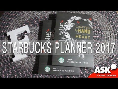 The UNBOXING: Starbucks Philippines' 2017 Starbucks Planner
