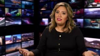 "Cars 3: Cristela Alonzo ""Cruz Ramirez"" Behind the Scenes Movie Interview"