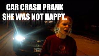 "I GOT IN A CAR CRASH! ""PRANK ON GIRLFRIEND"" SHE CRIED.. A LOT"