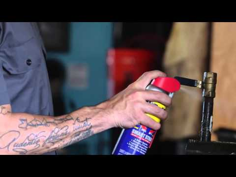 How To Loosen Rusted Parts with WD 40® Multi Use Product