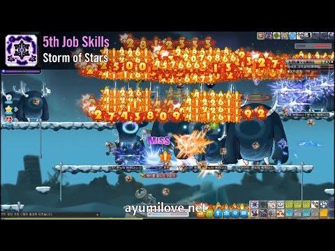 Ayumilove MapleStory Night Lord 1st, 2nd, 3rd, 4th, 5th Job Skills + Hyper Skills (2017)