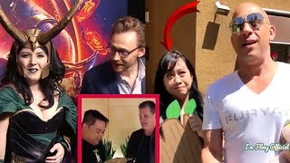 Avengers: Infinity War Cast Hilariously Surprises Fans(Part-2) - Try Not To Laugh 2018