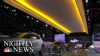Download Automakers Ditch Sedans At Detroit Auto-Show | NBC Nightly News Video