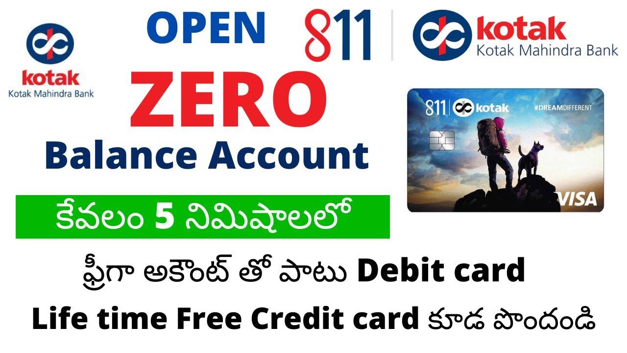 Download How to open kotak 811 zero balance account in telugu   kotak bank account open online telugu   MP3 Gratis