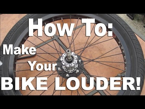 How To: Make Your BMX Hub Louder!