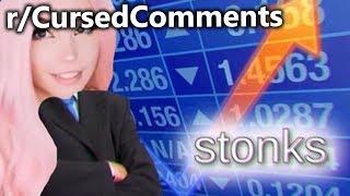 r/CursedComments | Bath Stonks