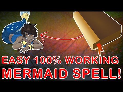 EASY, 100% WORKING MERMAID SPELL, No salt needed, CONFIRMED