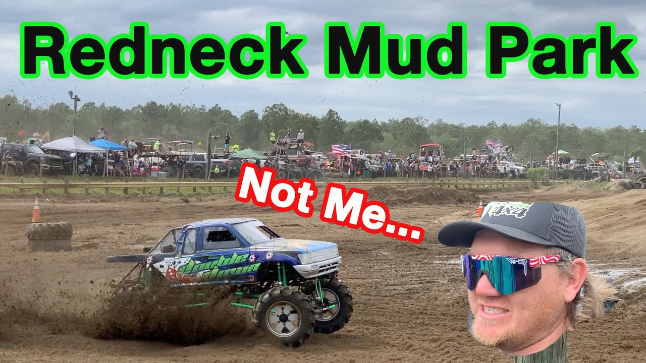 Let My Friend Race My Mega Truck... Talk About Nervous.. Also I Rent A Mud Truck For The Weekend...