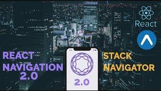 3 React Native - React Navigation V1 | Stack Navigator