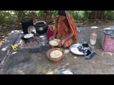 village style cooking How to make Soft Chapati  Recipe