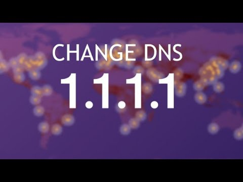 How To Change DNS to 1.1.1.1 Cloudflare DNS