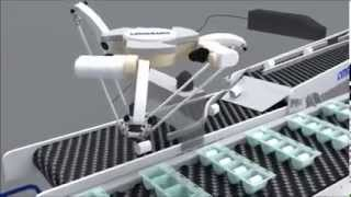 Omron Delta Robot Pick and Place System Solution