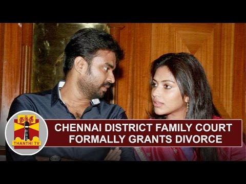 Chennai District Family Court grants divorce for Amala Paul and Vijay | Thanthi TV