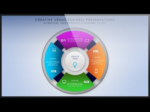 How To Create Circle Infographic for Workflow, Steps, Process in Microsoft Office PowerPoint PPT