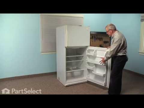 Refrigerator Repair - Replacing the Fresh Food Door Gasket (Whirlpool Part # 2159057)