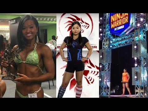 Strong Woman Heavy Lifting & Training – Mimi Bonny NPC Figure NBC ANW Netflix Ultimate Beastmaster