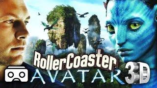 VR Avatar 3D VR Roller Coaster 3D SBS for VR BOX 3D not 360 VR