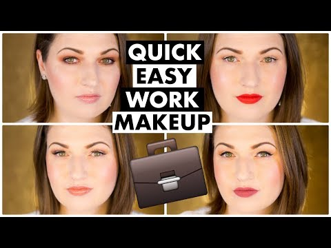 4 Work / Office Makeup Tutorials for Professionals