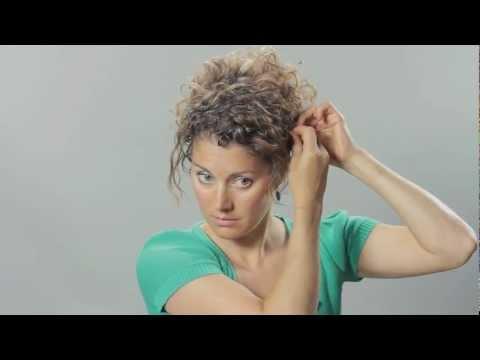 Curly Hair Updo - Hair Tutorial - Tasha Arnall