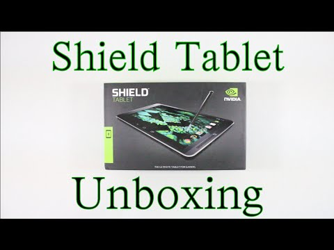 NVIDIA Shield Tablet Unboxing