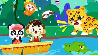 Little Panda's World Travel | Explore The World & Learn About The Customs | Babybus Gameplay Video