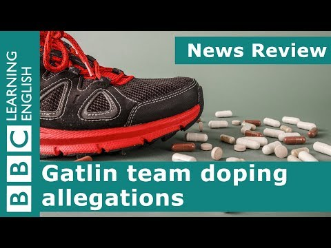 BBC News Review: Gatlin team doping allegations
