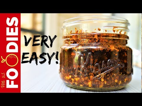 How to Make CHILI OIL - VERY EASY!