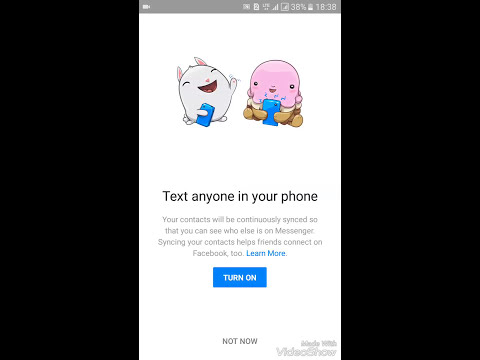 How to hide and unhide active now and favourite section in messenger..