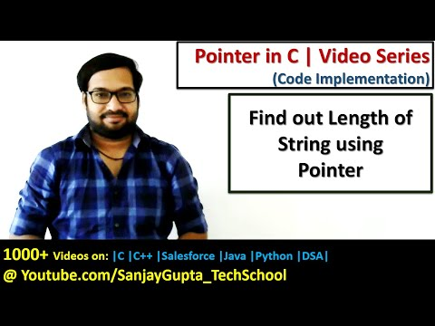 find out length of string using pointer in c programming | by Sanjay Gupta