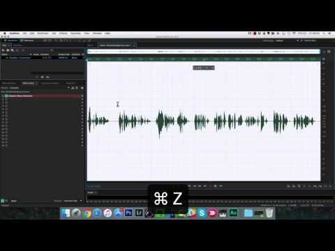 How To Process a Voice Over in Adobe Audition