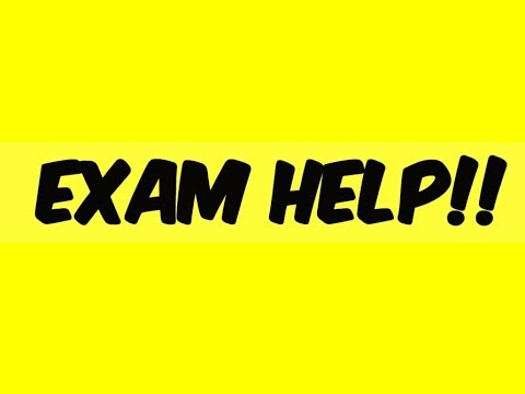 Finding the Sum and Product of roots of Quadratic Equations:  EXAM HELP