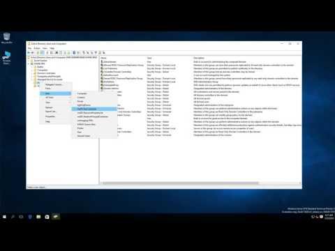 Windows Server Security Groups
