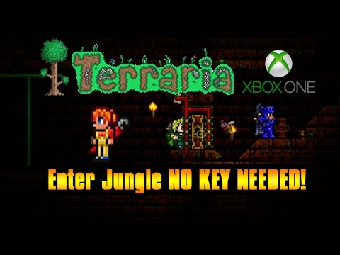 Terraria Jungle Temple | 1.2.4 NO KEY, NO PLANTERA! 1.3 PC *PRE-HARDMODE* WORKING