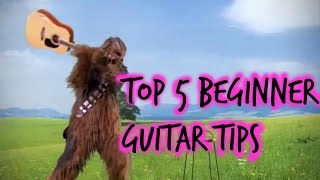 Top 5 Tips Every (Beginning) Guitarist MUST Know...