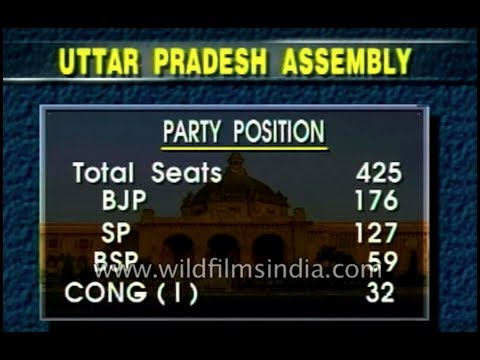BJP and  Samajwadi Party claim to form a government in Uttar Pradesh
