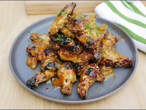 Andrew Zimmern Cooks: Grilled Chicken Wings