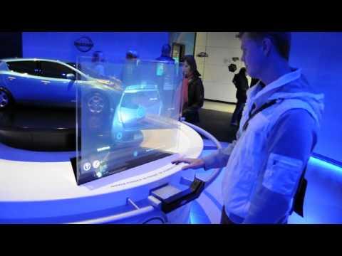 Nissan innovation. The O2 Arena.