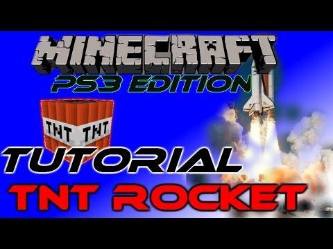 Minecraft PS3 Tutorial: TNT Rocket
